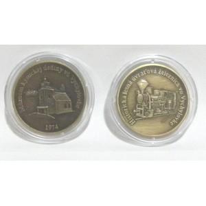 Razená pamätná minca - stará