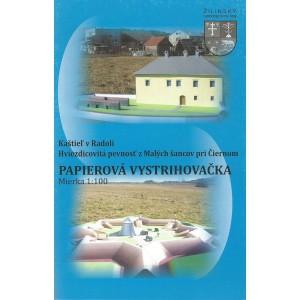 Kaštieľ v Radoli, Hviezdicovitá pevnosť z Malých šancov