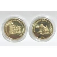 Razená pamätná minca - zlatá